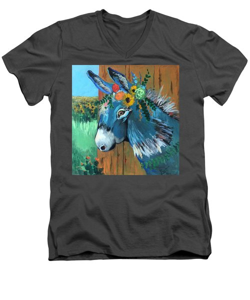 Festive Fiona Men's V-Neck T-Shirt