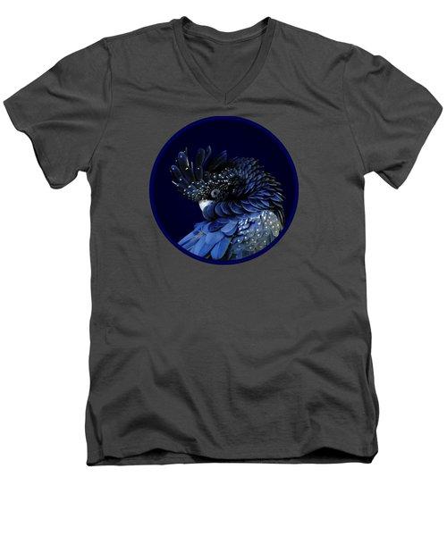 Fibonacci Cockatoo Men's V-Neck T-Shirt