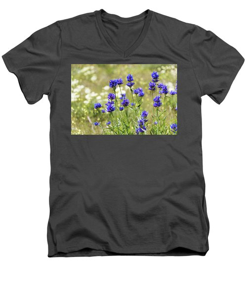 Men's V-Neck T-Shirt featuring the photograph Field Of Dreams by Chad Dutson