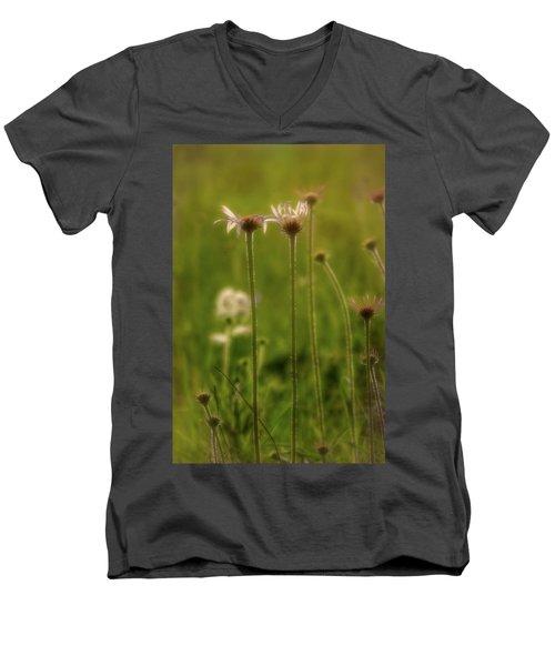 Field Of Flowers 3 Men's V-Neck T-Shirt