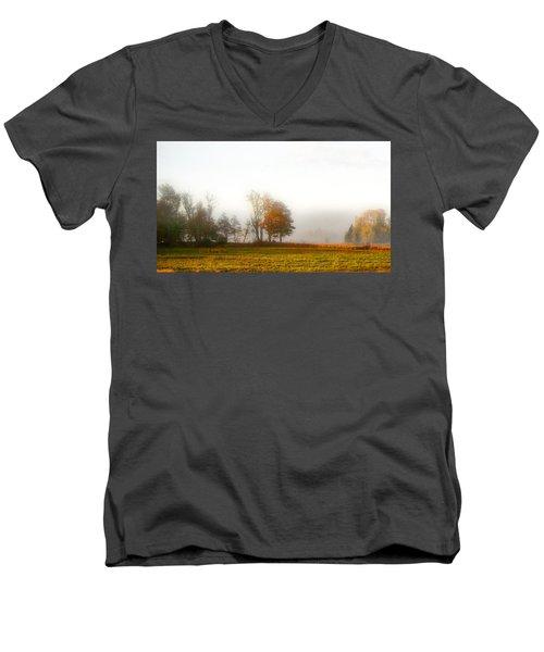 Field Of The Morn Men's V-Neck T-Shirt