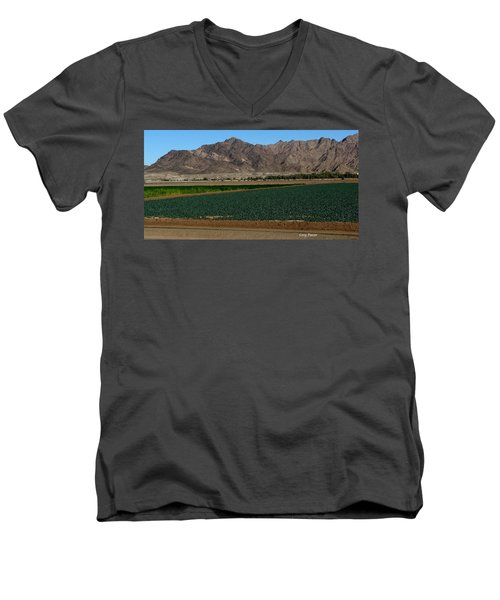 Fields Of Yuma Men's V-Neck T-Shirt