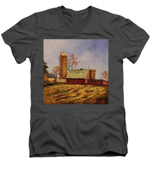 Fields Ready For Fall Men's V-Neck T-Shirt