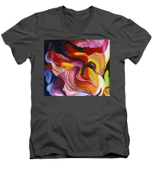 Fiesta De Les Flores Men's V-Neck T-Shirt