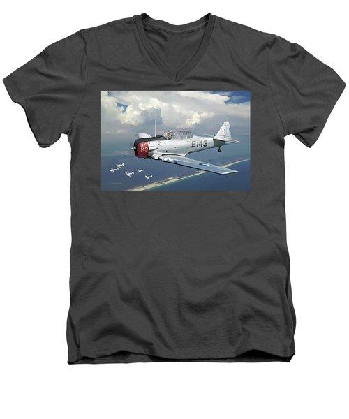 Fifinella Men's V-Neck T-Shirt