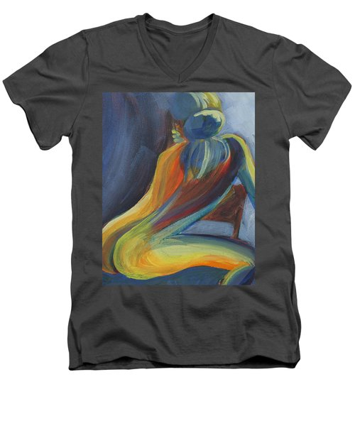 Figure II Men's V-Neck T-Shirt
