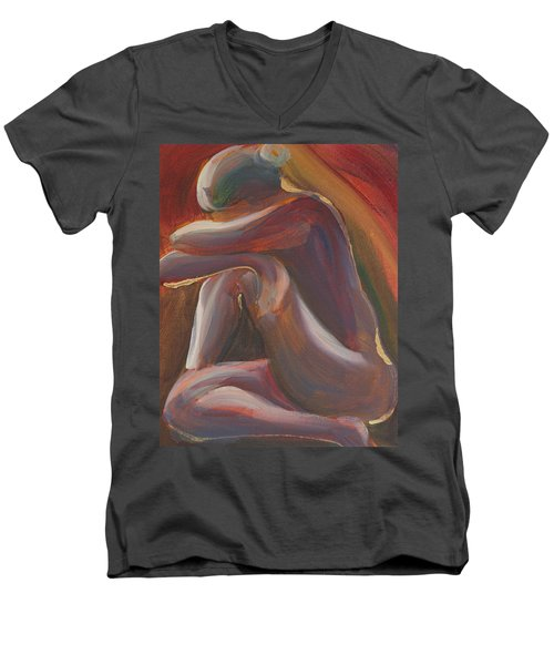 Figure IIi Men's V-Neck T-Shirt