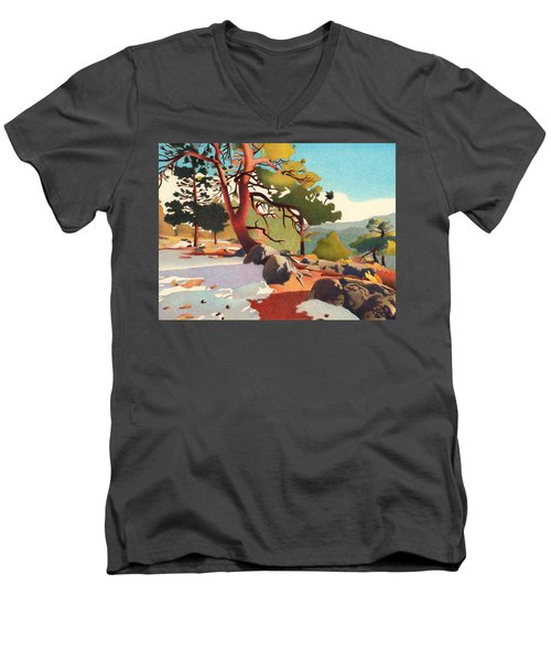 Fillius Ridge Men's V-Neck T-Shirt