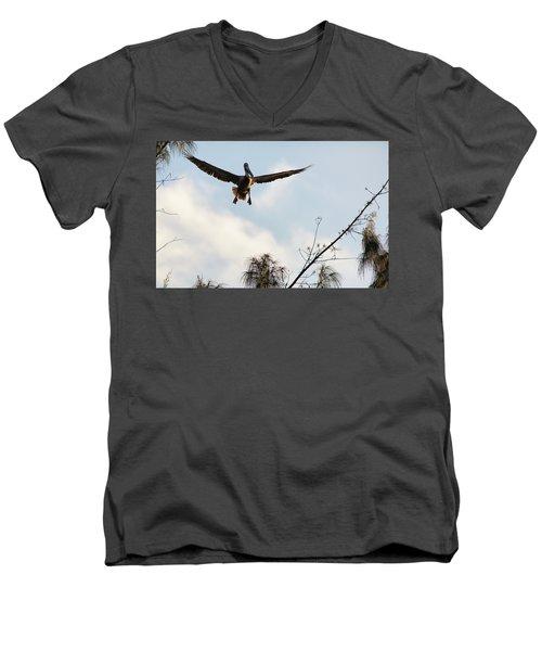 Final Approach Men's V-Neck T-Shirt
