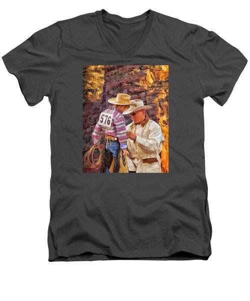 Final Check Men's V-Neck T-Shirt