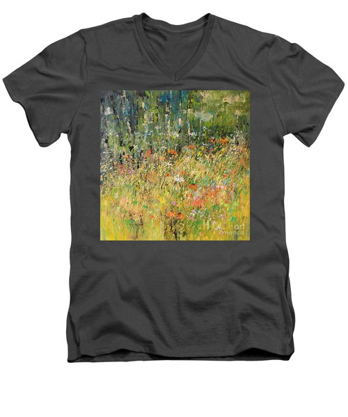 Find Me Where The Wild Things Are Men's V-Neck T-Shirt