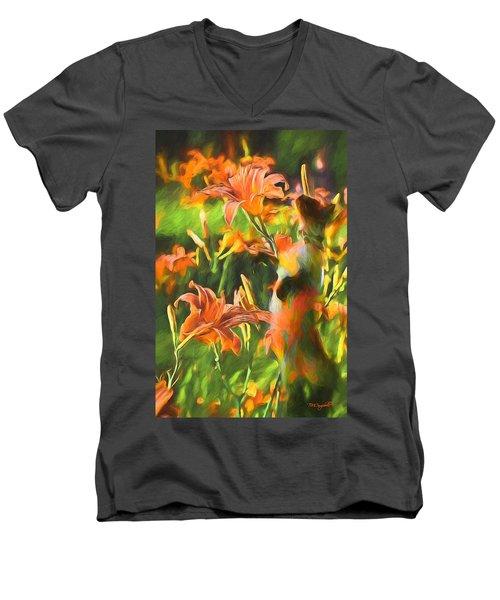 Find Sulley's Dream Men's V-Neck T-Shirt