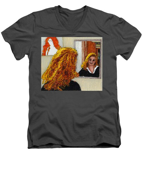 Finding Claudia Men's V-Neck T-Shirt