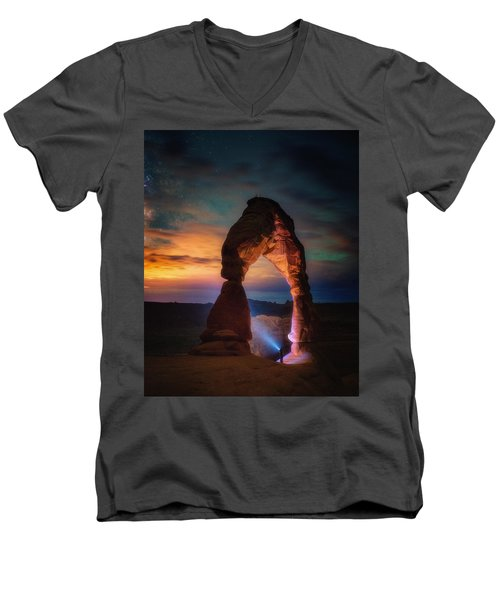 Finding Heaven Men's V-Neck T-Shirt
