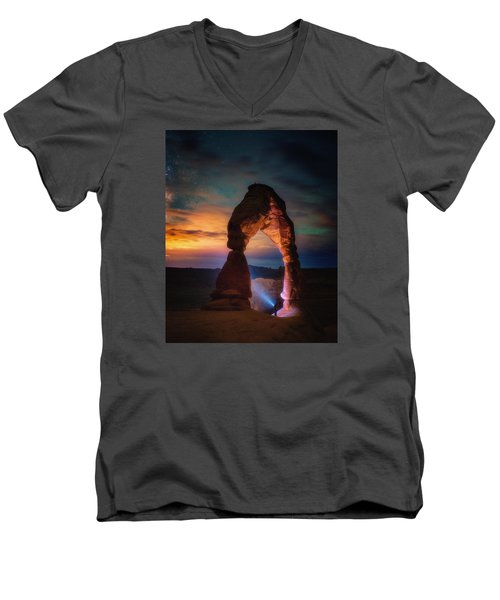 Finding Heaven Men's V-Neck T-Shirt