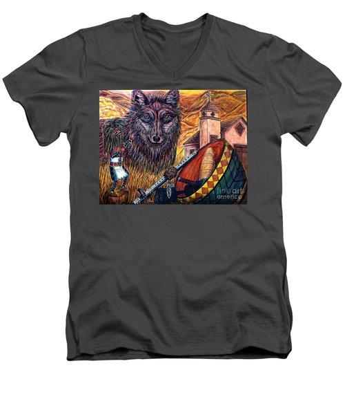 Finding Ones' Way Men's V-Neck T-Shirt