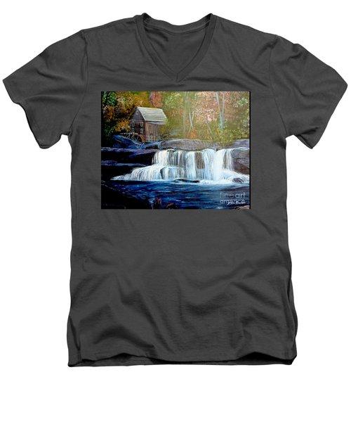 Finding The Living Waters Original Men's V-Neck T-Shirt