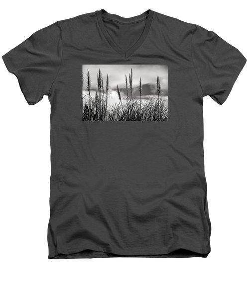 Fine Art Black And White-188 Men's V-Neck T-Shirt