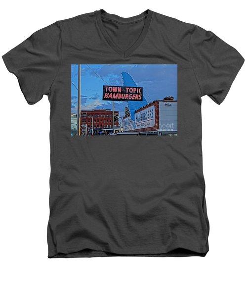 Fine Dinning Men's V-Neck T-Shirt