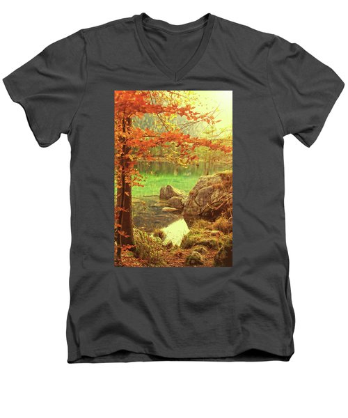 Fire And Water Men's V-Neck T-Shirt