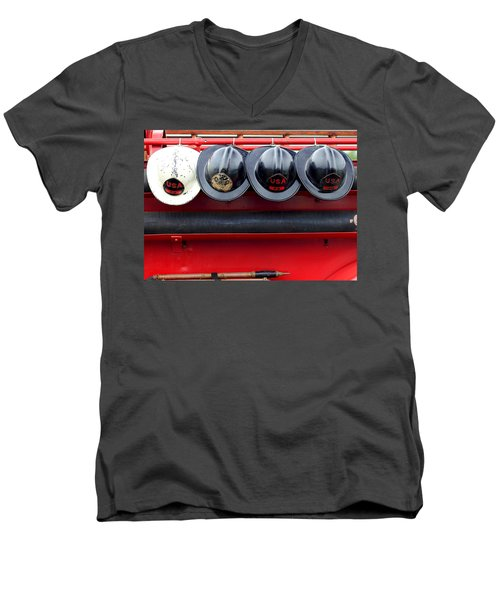 Fire Department Of The Usa Men's V-Neck T-Shirt