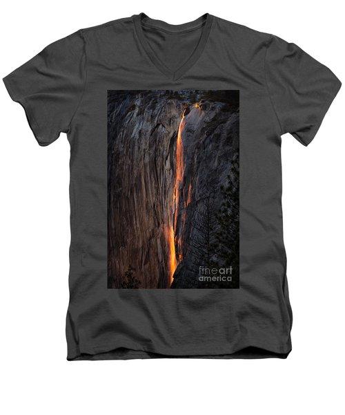 Fire Fall Men's V-Neck T-Shirt