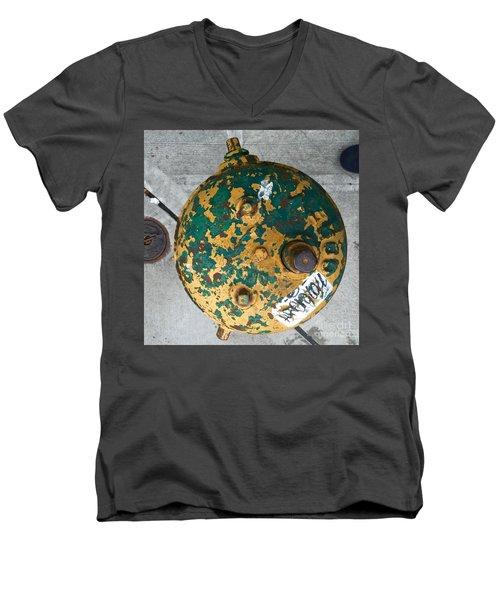 Fire Hydrant #2 Men's V-Neck T-Shirt