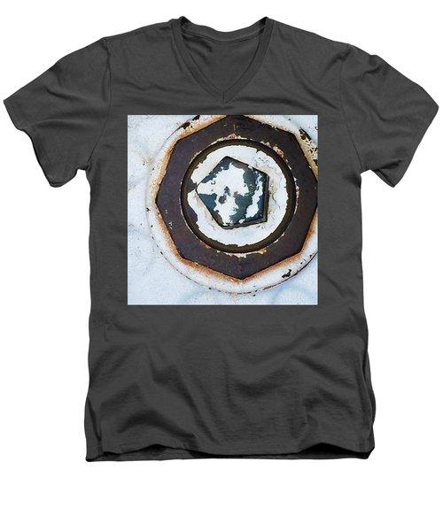 Fire Hydrant 9 Men's V-Neck T-Shirt