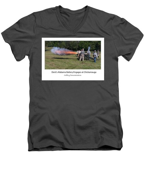 Fire In The Hole  Men's V-Neck T-Shirt