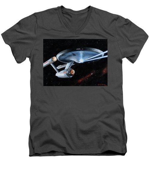 Fire Phasers Men's V-Neck T-Shirt