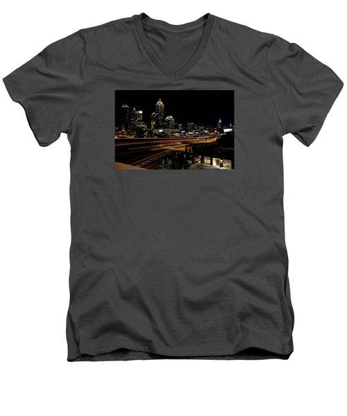 Fire Station Men's V-Neck T-Shirt