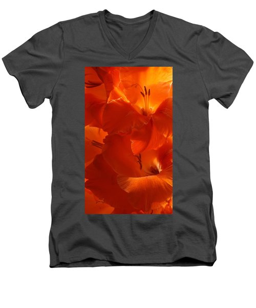 Fire Whispers Men's V-Neck T-Shirt