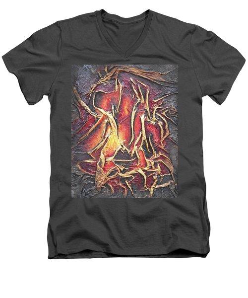 Firelight Men's V-Neck T-Shirt