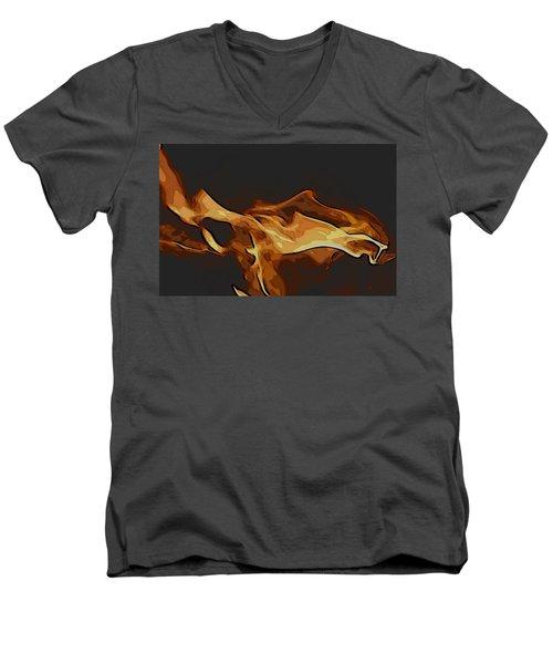 Firelite Men's V-Neck T-Shirt