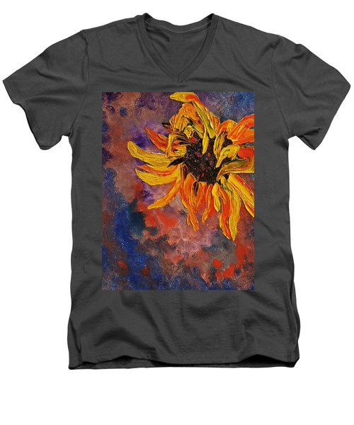Firespace Flower  27 Men's V-Neck T-Shirt