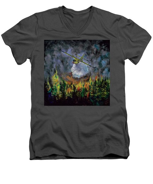 Firestorm Men's V-Neck T-Shirt