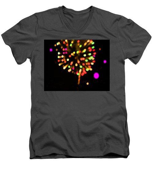 Firework Men's V-Neck T-Shirt