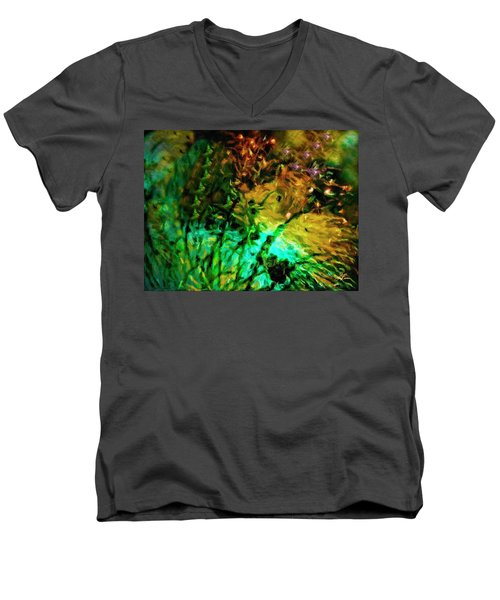Fireworks 14 Men's V-Neck T-Shirt