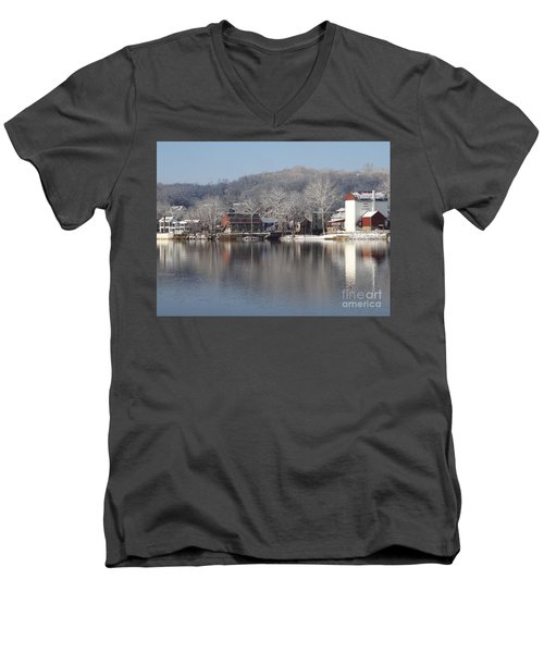 First Day Of Spring Bucks County Playhouse Men's V-Neck T-Shirt