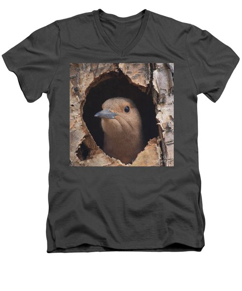 First Flight Men's V-Neck T-Shirt