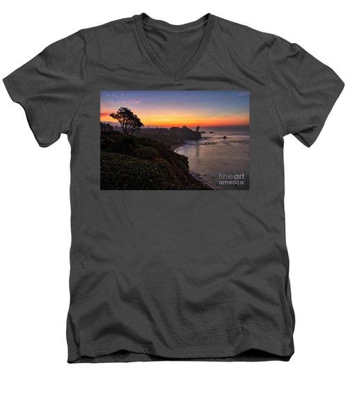 First Sunrise Of 2018 Men's V-Neck T-Shirt