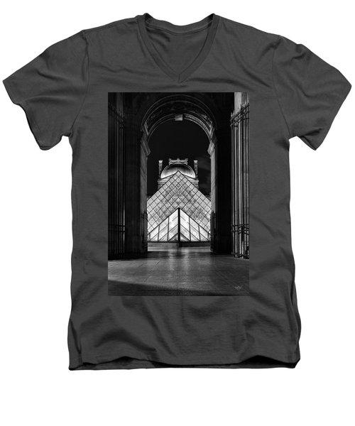 First Time Men's V-Neck T-Shirt