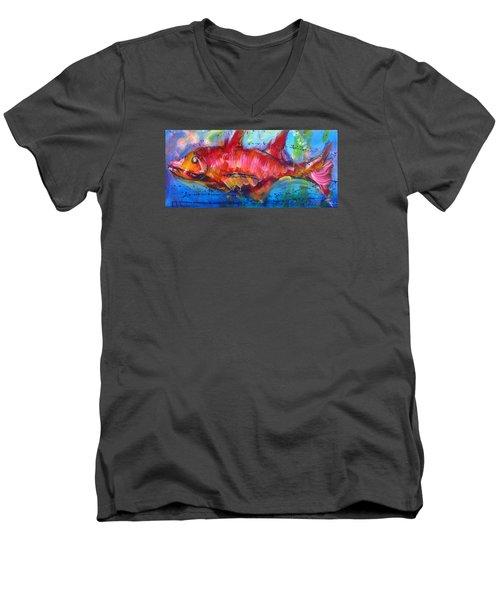 Fish 4 Men's V-Neck T-Shirt