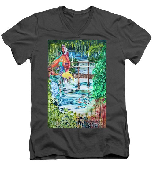 Fish Men's V-Neck T-Shirt
