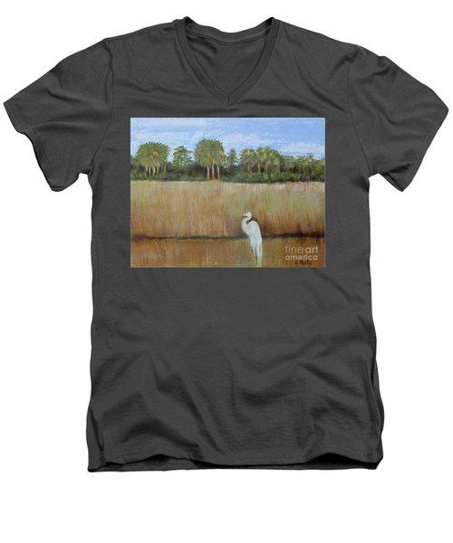 Fisher King 2 Men's V-Neck T-Shirt