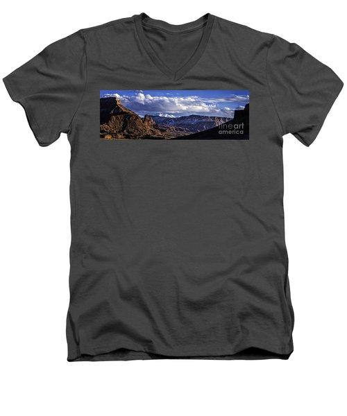 Fisher Towers Men's V-Neck T-Shirt