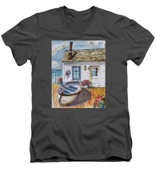Fisherman's Cottage Men's V-Neck T-Shirt