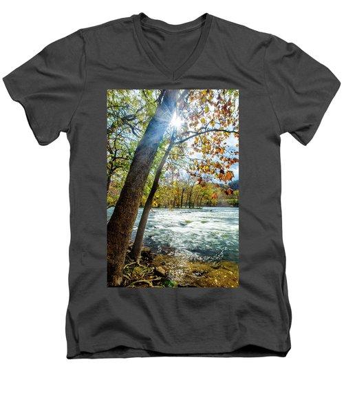 Fisherman's Paradise Men's V-Neck T-Shirt