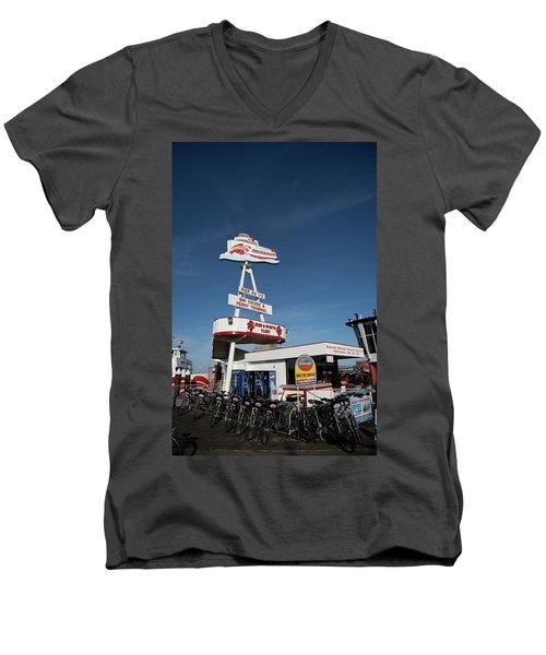 Fisherman's Wharf Bike Rental Men's V-Neck T-Shirt