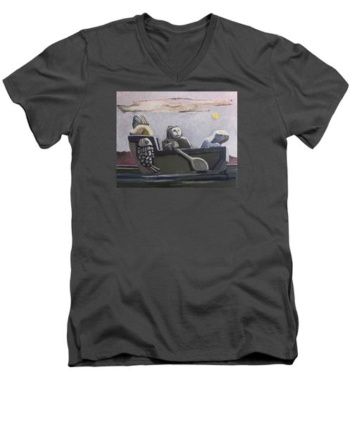 Fishers Men's V-Neck T-Shirt